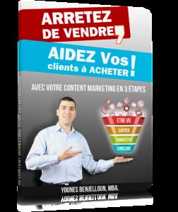 Cover ebook Marketing-Pipeline.com - Arrêtez de Vendre Aidez vos clients à acheter